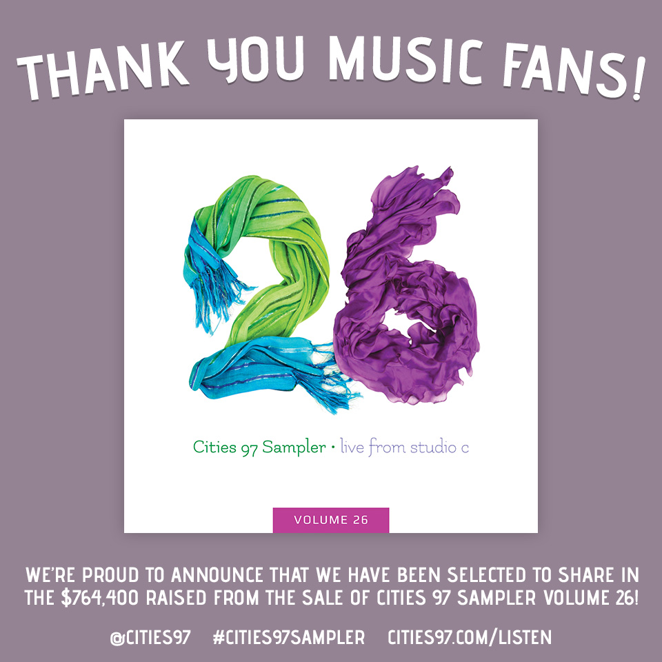 Cities 97 Sample winner Instagram